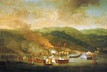 Bombardement de Bastia en 1745
