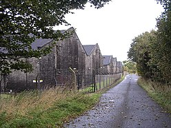 Bonded warehouses at Buchley - geograph.org.uk - 62628.jpg