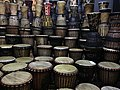 Bongo drums in GOLD restaurant, Cape Town.jpg