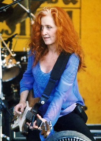 Bonnie Raitt - Raitt performing at the New Orleans Jazz & Heritage Festival, April 23, 2004