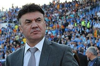 Borislav Mikhailov Bulgarian footballer