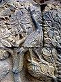 Borobudur - Divyavadana - 109 E, Maitrakanyaka meets with eight Nymphs (detail 2) (11705257943).jpg