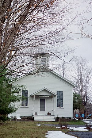 National Register of Historic Places listings in Onondaga County, New York - Image: Borodino School
