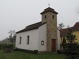 Borovná - Image: Borovná kaple Panny Marie 3