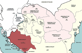 Bosnia Eyalet, Central europe 1683.png