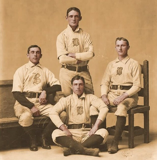 Boston Beaneaters infield