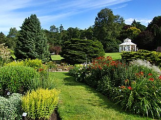 Gothenburg - A view in the Gothenburg Botanical Garden