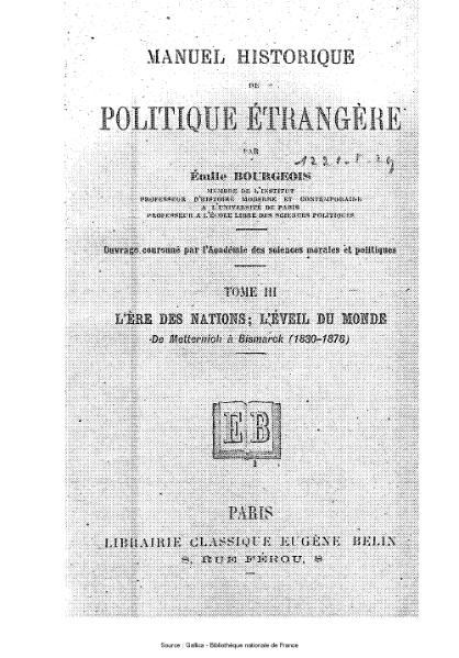 File:Bourgeois - Manuel historique de politique étrangère, tome 3.djvu