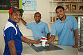 Boys from City Mission Farm running the coffee shop to earn money for the farm. (10678000696).jpg