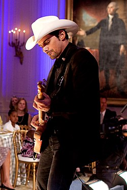 Brad Paisley at the White House.jpg