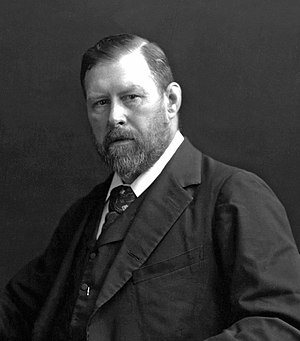 English: Bram Stoker (1847—1912), an Irish mus...