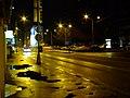 Bratislava, Špitálská ulica, pohled v noci.JPG