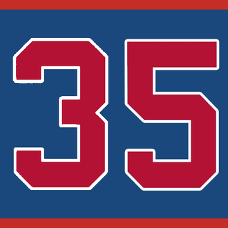 Phil Niekro - Image: Braves Retired 35
