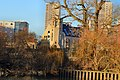 Brentford, Saint George's Church and Sarah Trimmer Hall from the Thames.jpg
