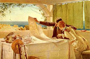 Edward Frederick Brewtnall - Where next? (c. 1890s)