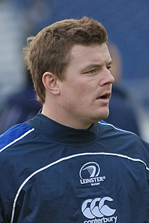 Brian ODriscoll Irish rugby union footballer