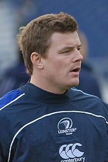 Brian ODriscoll Irish rugby player