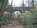 Bridge over disused Cardiff Railway - geograph.org.uk - 1627678.jpg