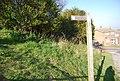 Bridleway signpost, Hill Rd - geograph.org.uk - 2161432.jpg