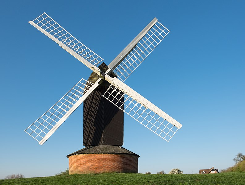 Ficheiro:Brill windmill April 2017.jpg