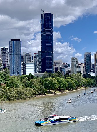 Brisbane Skytower - Brisbane Skytower under construction in February 2019