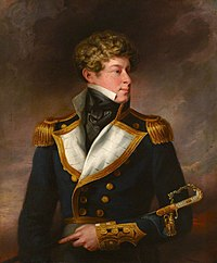 British School - Rear Admiral Lord Adolphus FitzClarence (1802–1856), GCH, ADC, RN, as a Young Naval Officer - 1449352 - National Trust.jpg