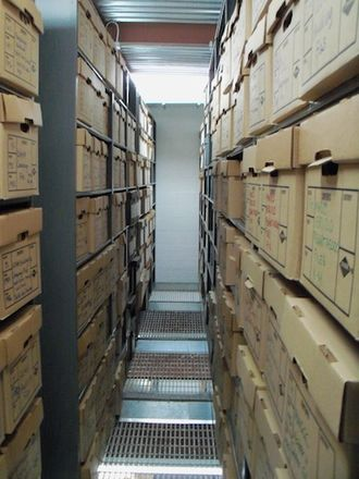The Bronx County Historical Society - Inside The Bronx County Archives.