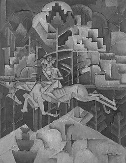 Brooklyn Museum - Equestrian - William Zorach - overall