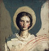 Brooklyn Museum - Head of a Boy (Recto) and Head of a Girl (Verso) - Abbott H. Thayer - verso.jpg