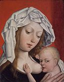 Brooklyn Museum - Madonna Nursing the Christ Child - Master of Magdalen Legend.jpg