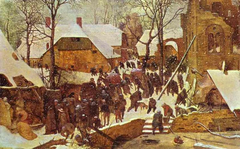 Pieter Breugel the Elder - 'The Visit of the Magi at Christmas'