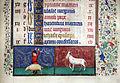 Bruges, horae beatae virginis mariae..., 1455-60, acquisti e doni 147, 03 uccisione del maiale.JPG