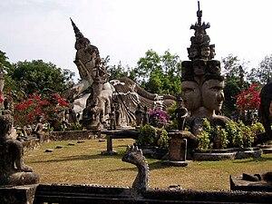 Bunleua Sulilat - Image: Buddha Park