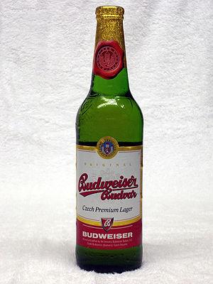Budweiser Budvar Brewery - Image: Budvar UK
