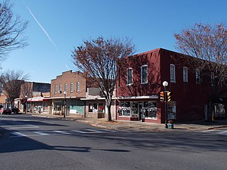 Buena Vista Downtown Historic District - Buena Vista Downtown Historic District, November 2012