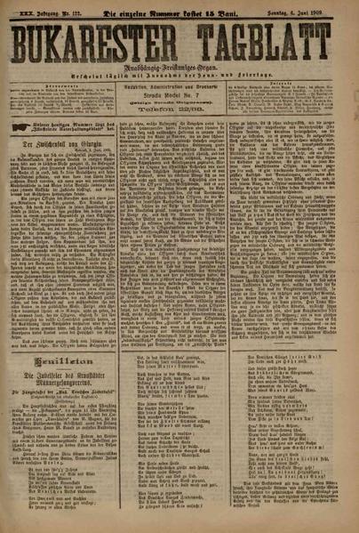 File:Bukarester Tagblatt 1909-06-06, nr. 122.pdf