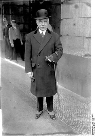 Otto Hermann Kahn - Otto Hermann Kahn in Berlin, 1931