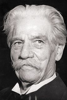 Albert Schweitzer French-German physician, theologian, musician and philosopher