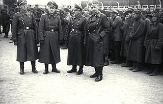 <i>SS-Totenkopfverbände</i> SS organization responsible for administering the Nazi concentration camps for the Third Reich