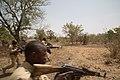 Burkinabe soldiers respond to an ambush during training at Exercise Flintlock 2019 near Po, Burkina Faso, Feb. 26, 2019.jpg
