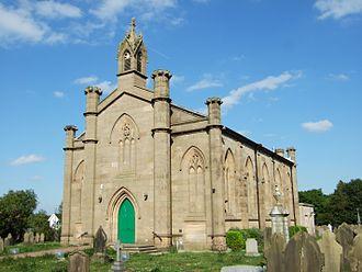 Burscough - Image: Burscough Parish Church