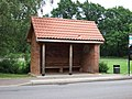 Bus shelter, North Wootton, Norfolk. - geograph.org.uk - 188831.jpg