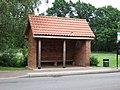 Bus shelter, North Wootton, Norfolk. - geograph.org.uk - 188831.jpg