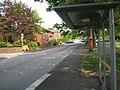 Bus shelter, Windmill Street, Macclesfield - geograph.org.uk - 2392151.jpg