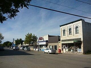 Rosthern Town in Saskatchewan, Canada