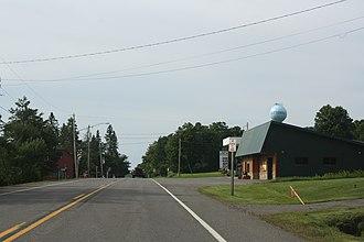 Butternut, Wisconsin - Looking south in Butternut