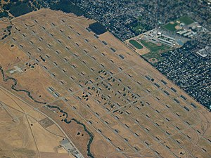 Concord Naval Weapons Station - Image: CA Concord Naval Weapons Station aerial USA