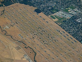 Concord, California - Aerial view of the Concord Naval Weapons Station