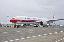 Eine Boeing 777F der China Cargo Airlines