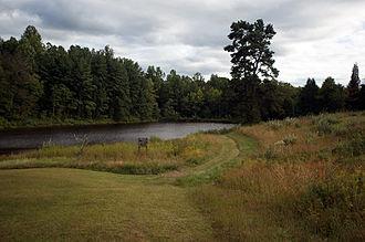 Virginia Wildlife Management Areas - Phelps Pond, within the Chester F. Phelps Wildlife Management Area in Fauquier and Culpeper counties, Virginia